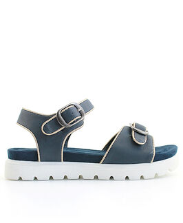 Distanc sandále LO832864099 modrá