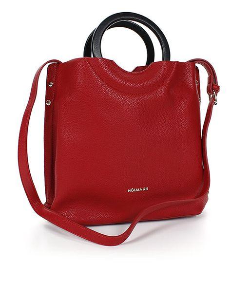 HOLMANN komfort kabelka FY810021088 Červená