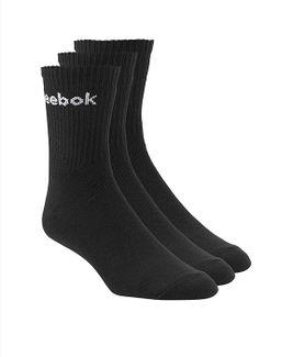 Reebok ponožky QM686085R60 Čierna