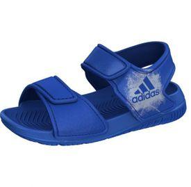 Adidas sandále QM722863098 modrá