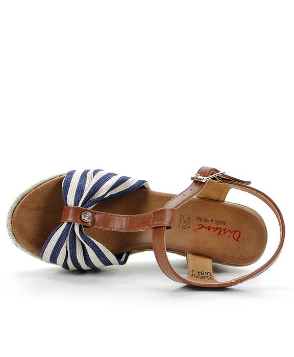 2b46a27d8fa0 Distanc sandále TL952002054 modrá - JohnGarfield.sk