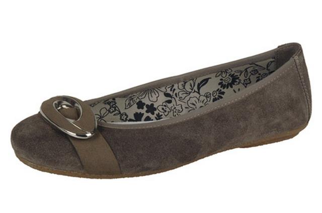 innovative design quality design recognized brands Rieker baleríny QR551792040 hnedá