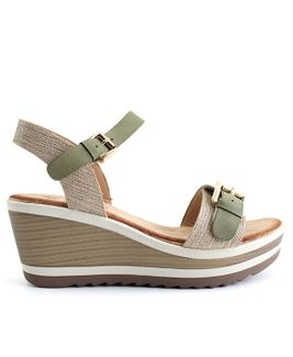 Distanc sandále TC852228007 zelená