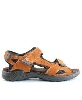 John Garfield sandále MR872177011 hnedá