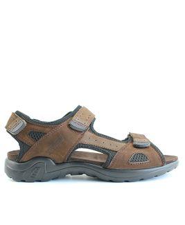 John Garfield sandále MR872177045 hnedá