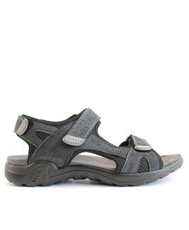 John Garfield sandále MR872177099 modrá