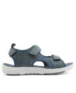 John Garfield sandále NA872310098 modrá