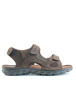 John Garfield sandále NR872052045 hnedá