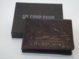Peňaženka CD609219040 hnedá