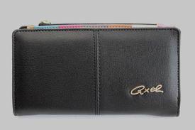 Peňaženka CQ703018060 Čierna
