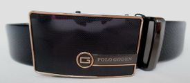 Polo Goden opasok GP610031060 Čierna