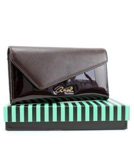 Axel peňaženka CQ711043045 hnedá