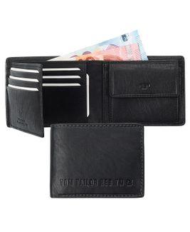 Peňaženka QT607158060 Čierna