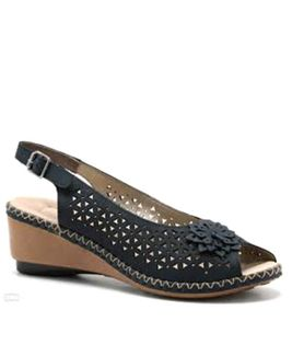 Rieker sandále QR852138099 modrá