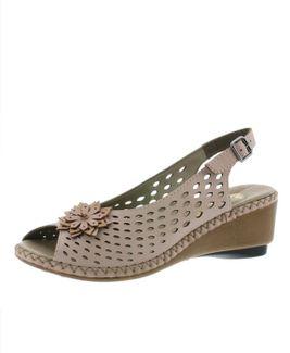 Rieker sandále QR852139025 ružová