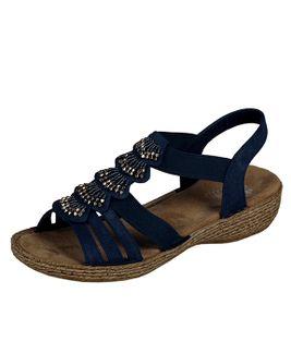 Rieker sandále QR852143099 modrá