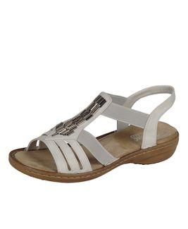Rieker sandále QR852144011 béžová