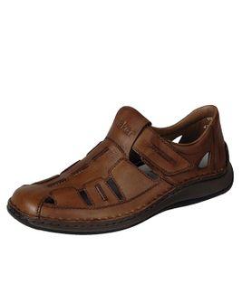 Rieker sandále QR872592040 hnedá