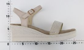 La Maria sandále LO752714011 béžová
