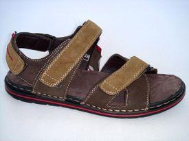 Distanc sandále MO672094043 hnedá