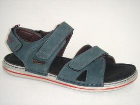 Distanc sandále MO672094099 modrá