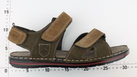 John Garfield sandále MO772105047 hnedá