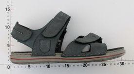 John Garfield sandále MO772105099 modrá