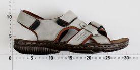 John Garfield sandále MR772171109 sivá