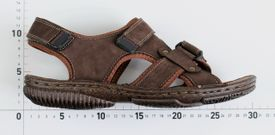 John Garfield sandále MR772171140 hnedá