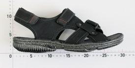 John Garfield sandále MR772171160 Čierna