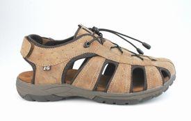John Garfield sandále NA772291040 hnedá