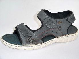 John Garfield sandále NR672052009 sivá