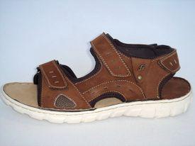 John Garfield sandále NR672052040 hnedá
