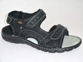 Sandále NR672052060 Čierna