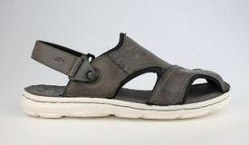 John Garfield sandále NR772082009 sivá
