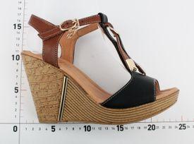 La Maria sandále OS752023046 Čierna