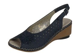 Rieker sandále QR752023099 modrá