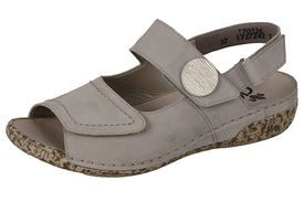 Rieker sandále QR752024011 béžová