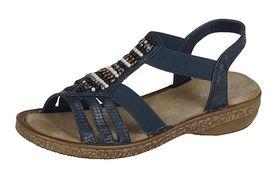 Rieker sandále QR752025099 modrá