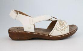 John Garfield sandále TC752191010 biela