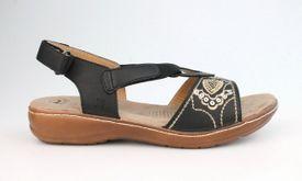 John Garfield sandále TC752191060 Čierna