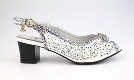 John Garfield sandále TI752013010 biela
