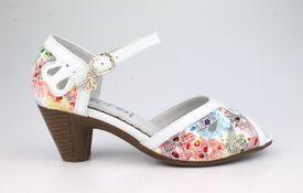 John Garfield sandále TI752014010 biela