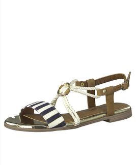 Tamaris sandále QW852422091 modrá