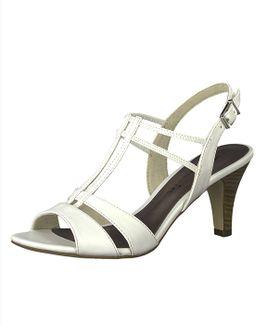 Tamaris sandále QW852423010 biela
