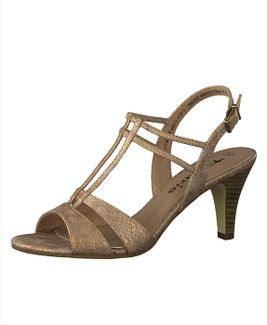 Tamaris sandále QW852423025 ružová
