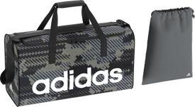 Adidas tašky QM706935096 sivá