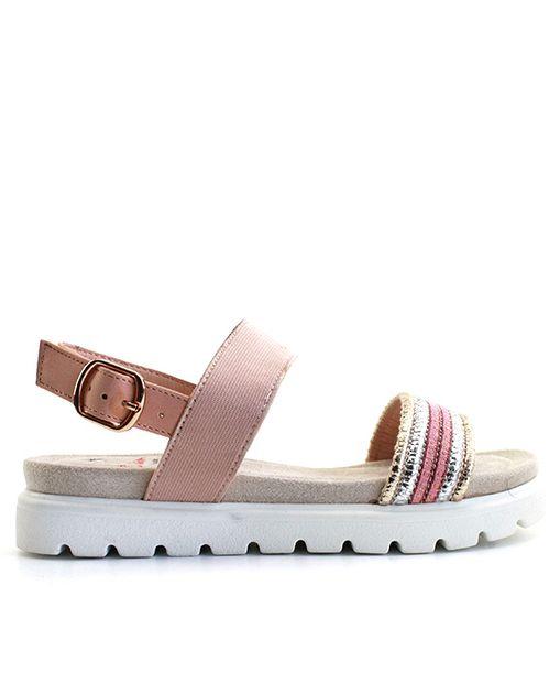 Distanc sandále LO832800084 ružová