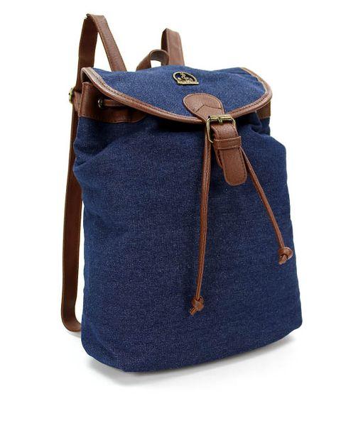 La Maria ruksak CE809228094 modrá