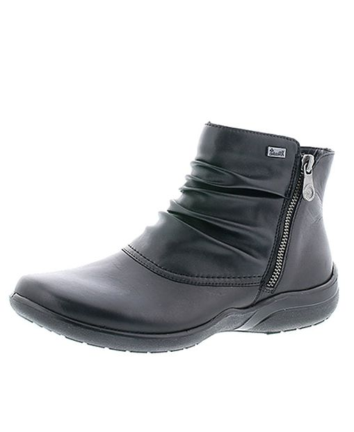 Rieker kotník QR853192060 Čierna